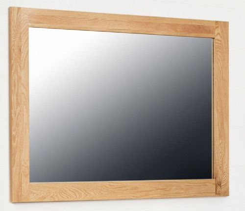 Mobel Oak Wall Mirror